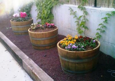 חביות יין משומשות