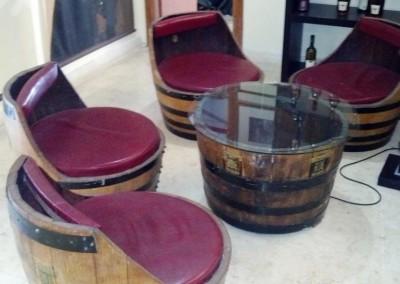 מערכת ישיבה מחביות יין