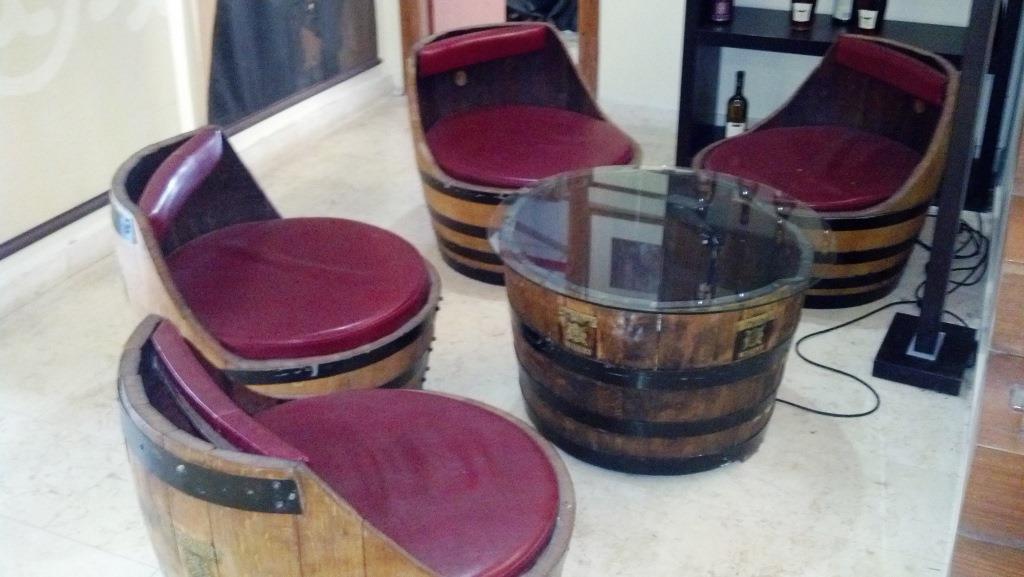 פנטסטי ריהוט ואביזרי נוי   מבחר חביות יין מקוריות משומשות למכירה   נוי גן LI-48