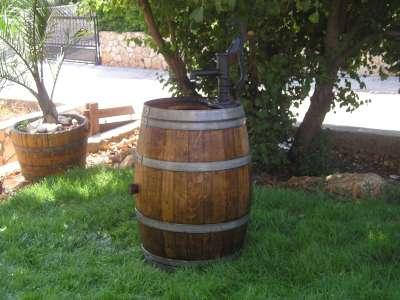 מאוד ריהוט ואביזרי נוי   מבחר חביות יין מקוריות משומשות למכירה   נוי גן XB-47