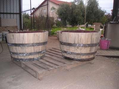 מקורי חביות עציץ לגינה, חביות יין   נוי גן DY-86
