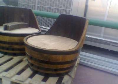 כורסא מחבית יין